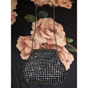 Topshop crystal embellished shoulder bag